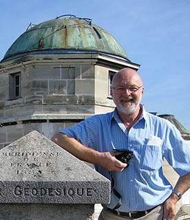 Photo by Bob Bee, July 2010, on the roof of the Observatoire de Paris